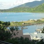  Balcony view of Airlee Beach,Whitsundays,N. Queensland