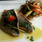  filets de dorade sauce vierge