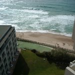 View from the 11th floor of the beach