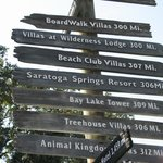 Distances to the other Disney Resorts