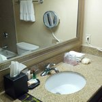 Bathroom - includes mouthwash and body puff