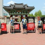 Tulsa Pedicabs at RiverFest in Little Rock Arkansas