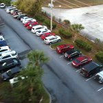 Parking lot behind 6000 building