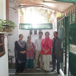 Monty's family at Indian Homestay