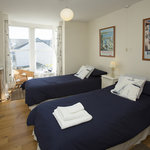 Twin Bedded Room en suite, sea glimpses