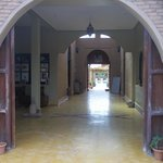  view through the entry way