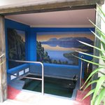  Mural Over Mineral Pool - Lake Tarawera