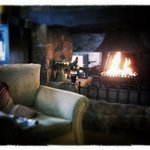  comfy sofas, open fire