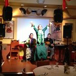  flamenco dancer (Second show)