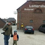 Lamershof entrance to car park.