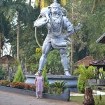 Hanuman the god of strenght!