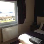 View over the loch from Arran suite