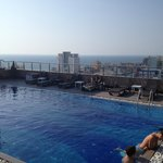 Rooftop pool at the Pearl Grand next door