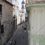  Looking out to Havana Cathedral and Cathedral Squre