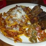 braised short ribs and peppers
