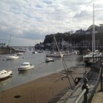 Porthmadog harbour, walking distance from Tudor Lodge