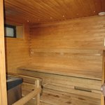 Very clean sauna
