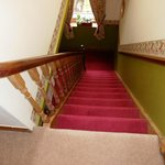  Stairs, 2 flights, to upstairs bedroom