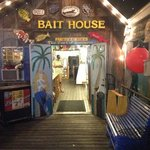  entrance thru the bait shop