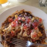 Migas for breakfast was AWESOME