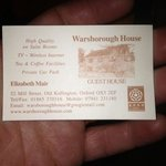 Foto de Warsborough House