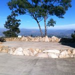 Looking east from Mt. Helix Amphitheater