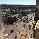  View from one of the rooms onto Main Street, Greenville
