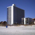  tall building is Forest Dunes from the beach