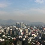  view from 25th floor over Mexico City