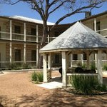  Gazebo in courtyard.  Great for relaxing with a glass of Texas wine!