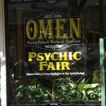 ‪Omen: Psychic Parlor and Witchcraft Emporium‬