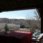 View from the upstairs terrace at Emre's Cave House