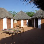  Guest Huts (each has bathroom)