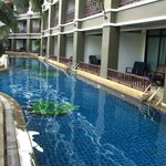 Pool frontage rooms