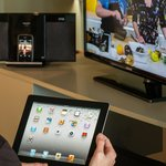  iPads (free wi-fi), iPod docking stations, and flat screens in every suite