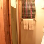 Bathroom (shower on left)