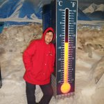  Experience an Antarctic Storm it went down to -18C