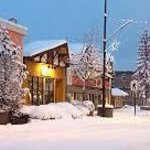 Main Street Smithers in Winter