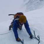 Ice climbing on Ben Nevis March 2013