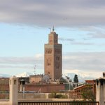 View from roof: koutoubia mosque (zoom)