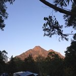 sunrise Mt Barney! beautiful