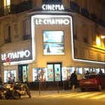  The cinema at the corner of rue Champollion and rue des Ecoles