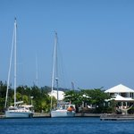 View of the Bayfoot Cay Resort Marina