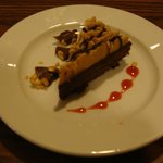 Flourless Chocolate Torte with Peanut Butter Frosting