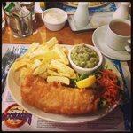 Fish & Chips at Mc Donagh's
