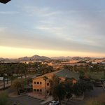 Balcony View on a nice spring evening in Phoenix