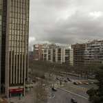  Vistas de la Castellana desde la habitacin, 6 planta