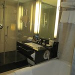  Bathroom with huge tub and walk-in rain-shower