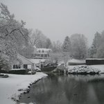 Another shot of the Whitewing Property in the Snow