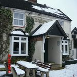 Snowy weekend @ The Black Boy 24/3/13
